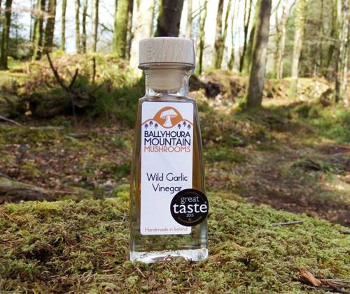 Willd Garlic Vinegar,Ballyhoura Mountain Mushroom