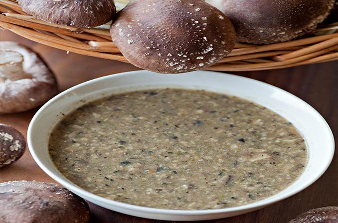 Shiitake Soup Recipe